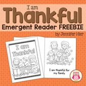 Thanksgiving Emergent Reader – Kinder Thanksgiving
