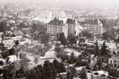 The Garden Of Allah Hotel And Surrounds Sunset Blvd Circa Late