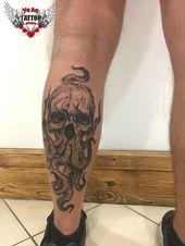 Octopus Tattoo auf Kälber Dotwork von Anton Veber,  #Anton #auf #Dotwork #Kälber #Octopus #oc…