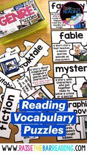 Reading Vocabulary Puzzles 2