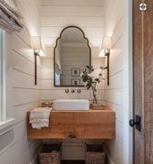 Details about NEW Farmhouse Moroccan Shapely Silhouette Bronze Gold ARCHED WALL MIRROR Vanity