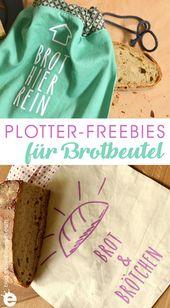 Freebie: Plotterdateien Brot & Brötchen – Erbsenprinzessin Blog