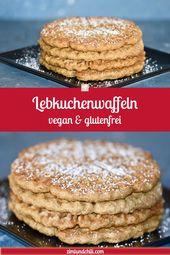 Lebkuchenwaffeln – Vegan & Glutenfrei