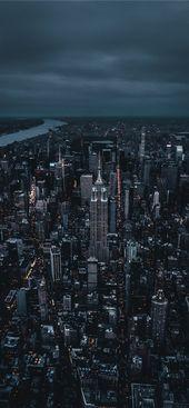 Empire State Building  iPhone X wallpaper #night #light #sky #skyscraper #NewYor… – Gigi