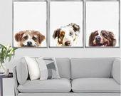 Artículos similares a Ropa para mascotas, gorro de perro y bufanda …   – Tejidos