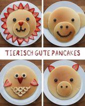 Diese tierisch guten Pfannkuchen sind das perfekte Frühstück für Groß und Klein