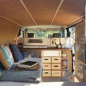 Mobiles DIY-Haus auf Rädern – verwandeln Sie Transporter in Wohnwagen #bauwagen # …   – Camping ausbau