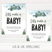 Baby Shower Songs Lets Make A Baby Game, Printable Baby Shower Games, Adventure Awaits, Baby Games, Lets Make A Baby P