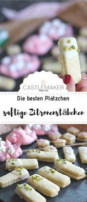 REZEPT für fruchtige Zitronenstangen & Baiserlollies   – Castlemaker Lifestyle-Blog Rezepte & mehr