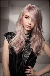 Frisuren mit Pastell Rosa Haare » Trend Kurze Frisuren – #frisuren #haare #kurze #pastell #trend –