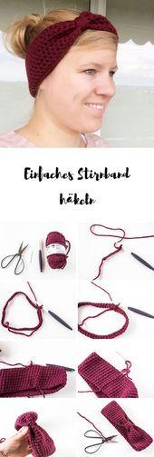 Anleitung für ein Stirnband (für Anfänger geeignet)