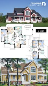 2 master suites house plan, 4 bedrooms. 4 bathroom…
