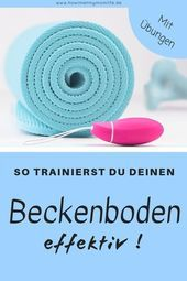 Train the pelvic floor by yourself – effective recovery after birth –  Exercise …