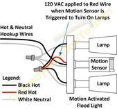 Motion Sensor Light Wiring Diagram Motion Sensor Lights Light Sensor Motion Sensor