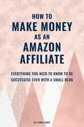 Erfahren Sie, wie Sie als Amazon-Partner verdienen. Verdienen Sie Geld als Affiliate-Vermarkter.   – Affiliate Marketing