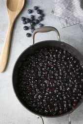 Wie man gefrorene Blaubeeren in den Torten benutzt – Must try recipes