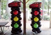 Disney Cars Birthday Party Ideas Decoration Decor Traffic Light 47 Ideas