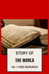 Story of the World-Chapter 1 (Actions, Crafts, Hyperlinks and MORE)-Quantity 1