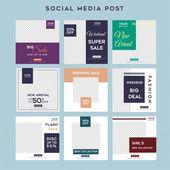 Minimalist Social Media Stories Feed Post Fashion Sale Template