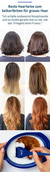Vergiss Haarfarbe aus dem Supermarkt und teste sie Haarfarbe zum Selberfärben…