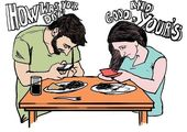 Illustrations that denounce our addiction to the smartphone and social networks