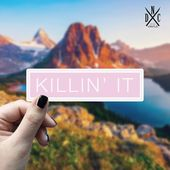 Killin' It Vinyl Sticker, Best Friend Gift, Laptop Decals, Funny Stickers, Decal, Macbook Decal, Stickers Macbook Pro