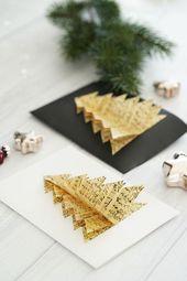 DIY: Selbstgemachte Weihnachtskarten