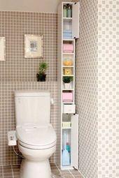 Loft Bathroom Storage Ideas during Bathroom Decor Color Schemes within Bathroom …