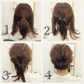 25 fast hairstyles for medium and long hair for every day.