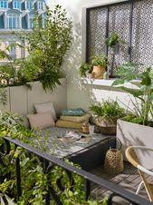 15 inspirierende Ideen, die aus Ihrem Balkon ein kleines Stückchen Grün machen