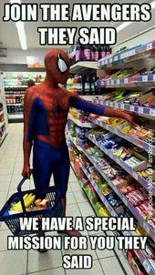 8 der besten Rächer Meme #spiderman #funny #humor #memes