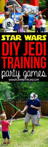 Jedi Training Academy Ideas to Host the Best Star Wars Party