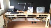 Schreibtisch Selber Bauen Arbeitsplatte – Wohndesign