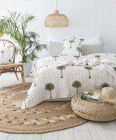 14 tropische Schlafzimmer, in denen Sie das Gefüh…