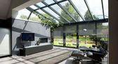 Wintergarten, Anbau und Dach Moderner Anbau mit Holzboden. Von Tamara …   – Anbau