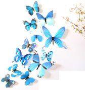 3d Gouden Vlinders Muurstickers Van Gouden Vlinders Unieke Decoratieve Muursticker Muurstickers Prachtige Vlinders Vlinders