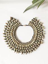 Africa Handmade Of the Nile Cowrie Choker