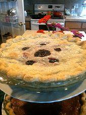 Blackberry Pie – verwendet 4 Liter Brombeeren stattdessen für eine vollere Torte   – Mostly Vegetarian Recipes