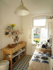 70+ Amazing Small Kitchen Design Ideas #kitchen #k…