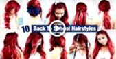 10 Back to School Hairstyles l Quick and Easy Hairstyles for School – #Easy #Hairs …