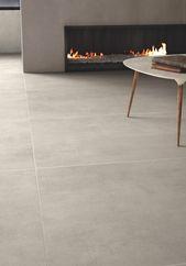 Porcelain stoneware flooring with concrete effect BETON Granitoker Collection By Casalgrande Padana