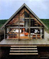 1967 … roughing it!  – Häuser