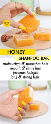 HONEY SHAMPOO BAR RECIPE