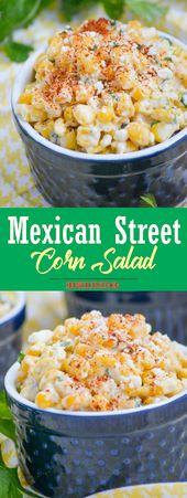 Mexican Street Corn Salad | Show You Recipes