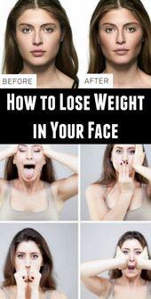 Wie man Gewicht auf Ihrem Gesicht verliert