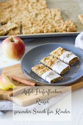 Apple oatmeal bar