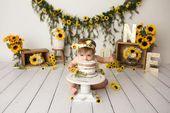 50+ Trendy Baby First Birthday Party Ideas Smash Cakes Photo Shoot – Kreative fotografie