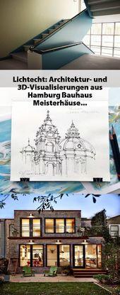 Lichtecht: Architektur- und 3D-Visualisierungen aus Hamburg Bauhaus Meisterhäus…