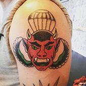 #oldschooltattoo von # günnistattoowerkstatt # #tattoo #tattoo shop #horne …