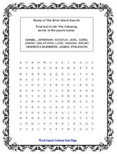 Bible Study Word Search Printable Bible Facts Learn The Bible Bible Word Searches